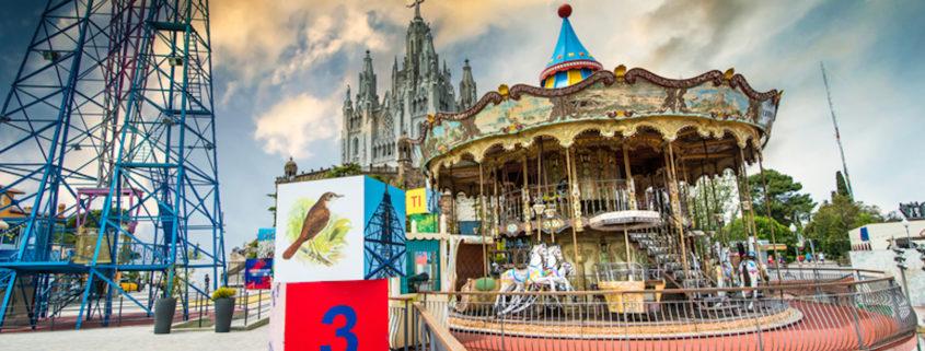 Amusement Park on Mount Tibidabo.