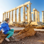 Ancient Greek temple of Poseidon, Cape Sounion, Athens. Photo: MNStudio | Dreamstime.com
