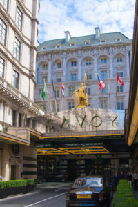 The Savoy, London.