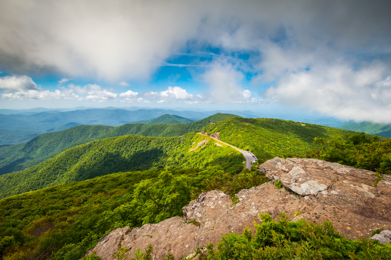 Blue Ridge Parkway, North Carolina.