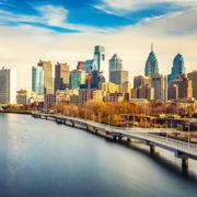 Panoramic picture of Philadelphia skyline and Schuylkill River. Photo: Sborisov | Dreamstime.com