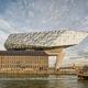 The new Port House in Antwerp, Belgium.