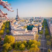View on Paris at spring evening, France. Photo: Sborisov | Dreamstime.com