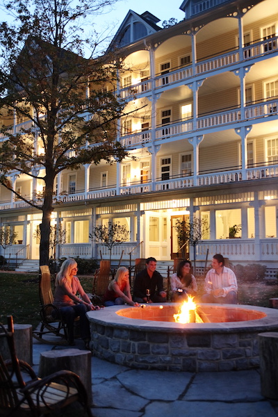 Fire pit with friends and family. Photo: Omni Hotels & Resorts