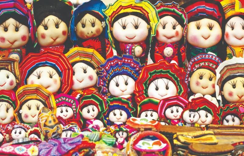 Peruvian dolls, Pisac Cuzco.