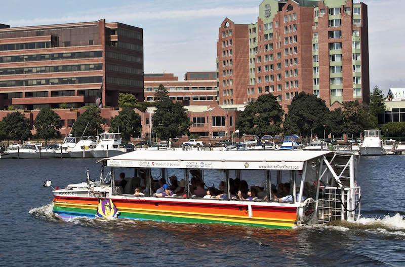 Boston, Duck Tours. Photo: Stillman Rogers