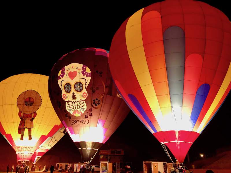 Hot-Air Ballooning in Gallup, New Mexico. Photo: Rina Nehdar