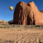 Hot-Air Ballooning in Gallup, New Mexico.