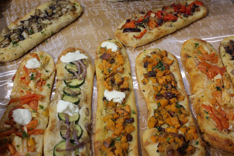 Israel Sarona Flatbread, Food tour.