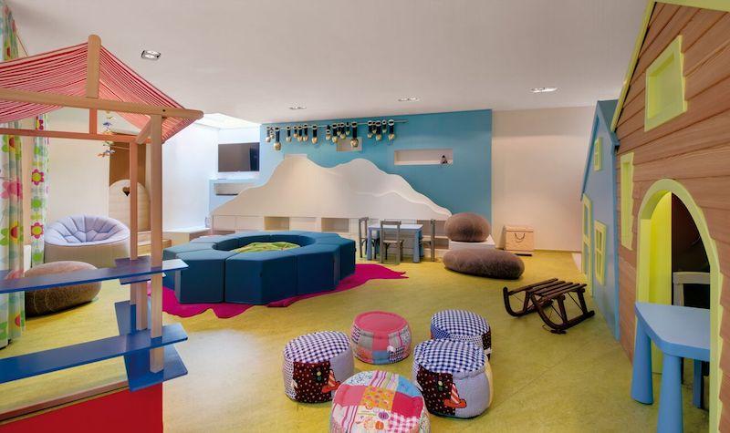 Kid club. Photo: Giardino Hotels