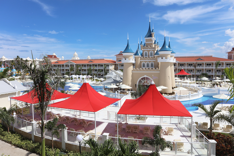 Bahia Principe Fantasia Castle. Photo: Bahia Principe