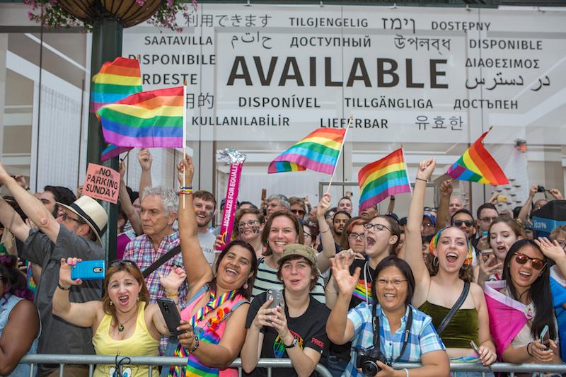 NYC Pride March. Photo: Christopher Gagliardi, I LOVE NY