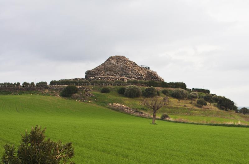 Su Nuraxi di Barumini in Sardinia, Italy.