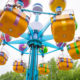 Sesame Place in the Summer.