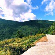 New Hampshire hiking.