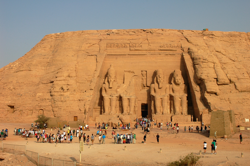 Tour in Egypt.