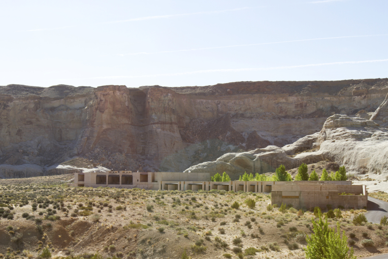 Amangiri Resort nestled in Grand Staircase Escalante National Park.
