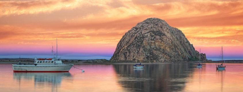 Morro Bay, California.