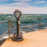 Barnegat Inlet on Long Beach Island, New Jersey.