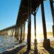 San Simeon pier near Hearst Castle, California.