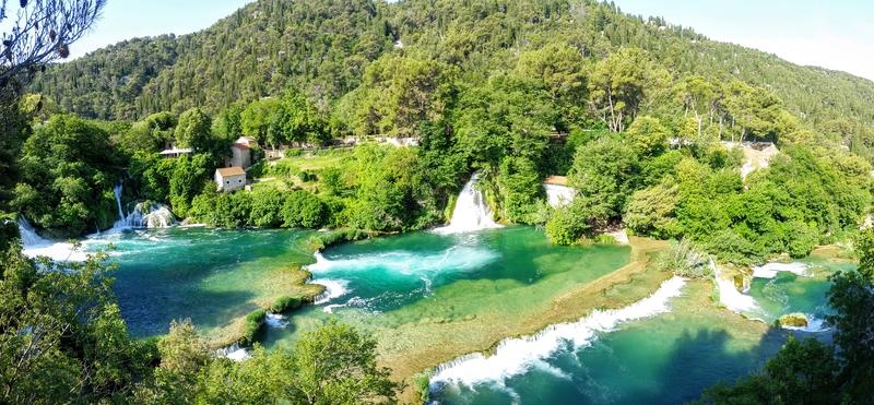 Waterfalls in the Krka National Park, Croatia