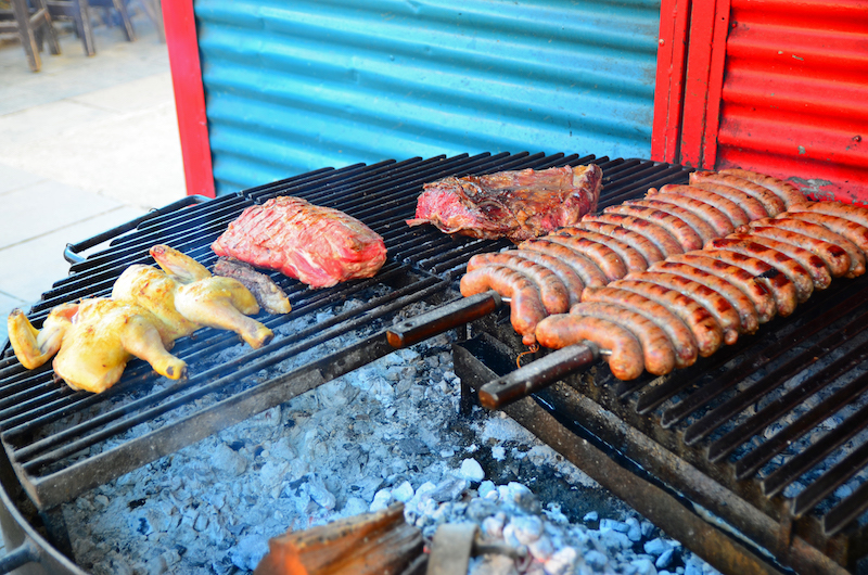 Grilling, Buenos Aires.