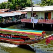 Canal Boat Ride in Bangkok photo credit Kelly Magyarics