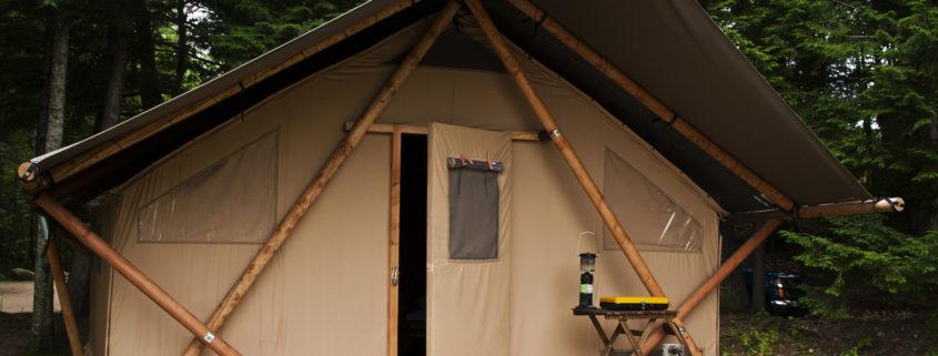 Camping, Huttopia.