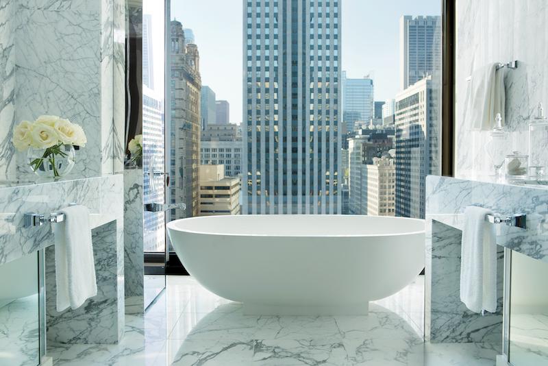 Infinity Suite, Guest Bathroom
