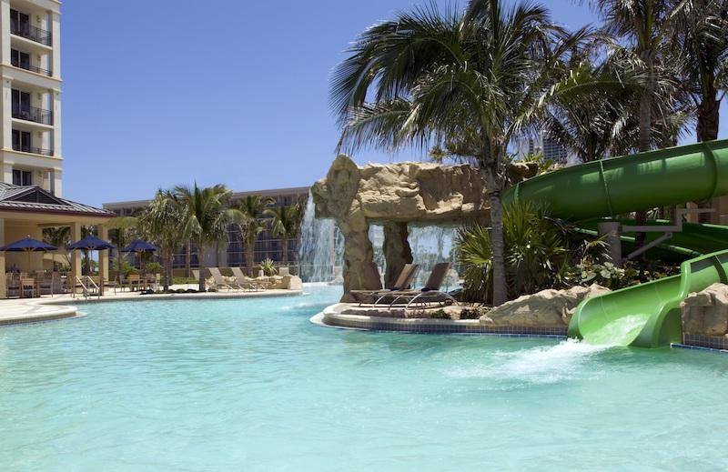 Lagoon Pool - Palm Beach Marriott Singer Island Beach Resort & Spa