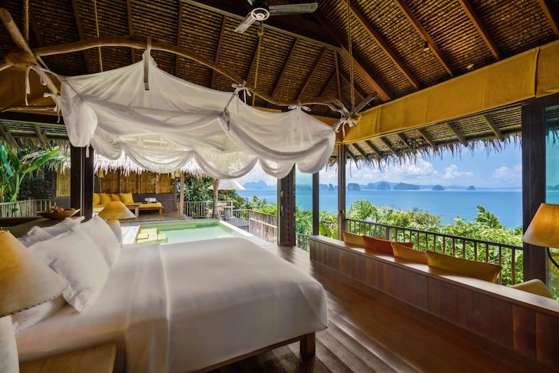 Ocean Panorama pool villa.