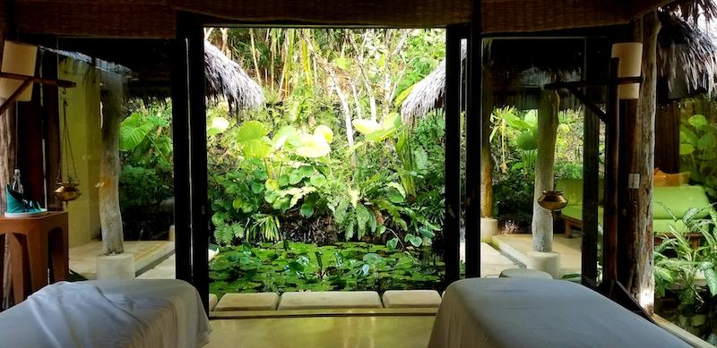 Waterfall Room at spa.