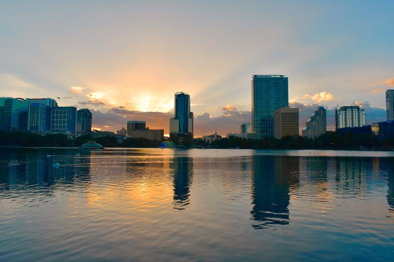 Downtown Orlando.