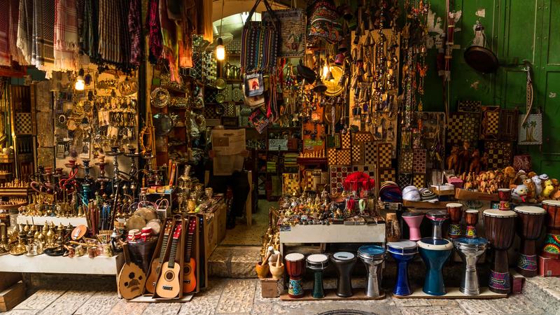 Old City Jerusalem, Israel.
