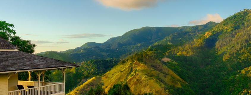 Jamaica-The Blue Mountains.