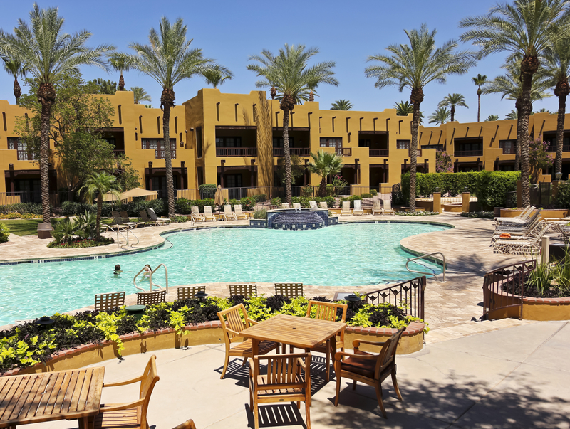 The Wigwam pool, Arizona.