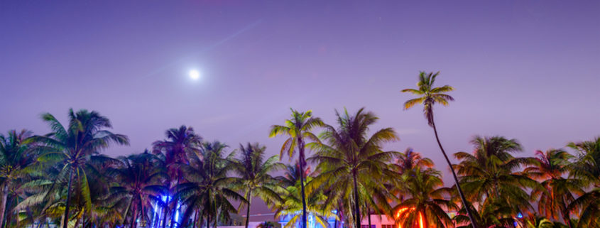 South Beach, Miami Beach, Florida.