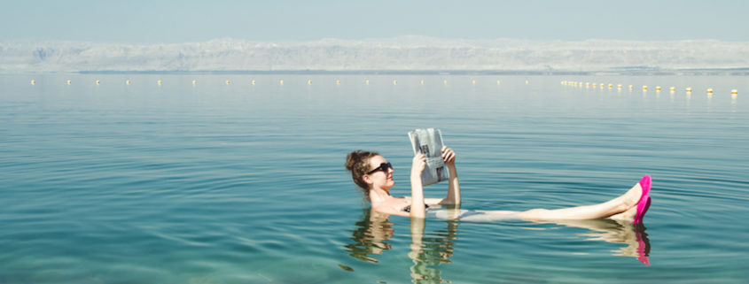Dead Sea vacation.