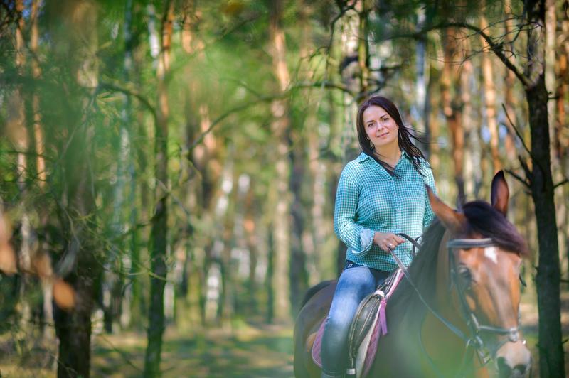 Horseback Riding in Bozeman.