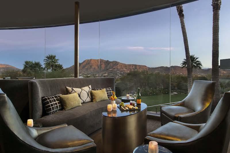 jade bar Lounge - Sanctuary on Camelback Mountain Resort & Spa