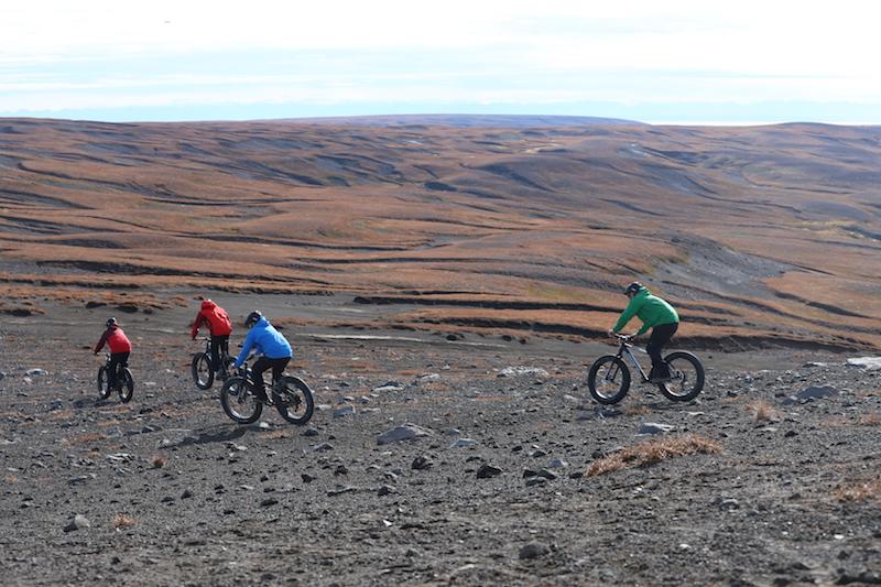 Mountain Bikes.