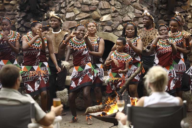 Zulu Dancers.