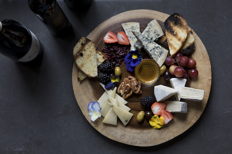 Drakes Fireside Lounge Charcuterie.