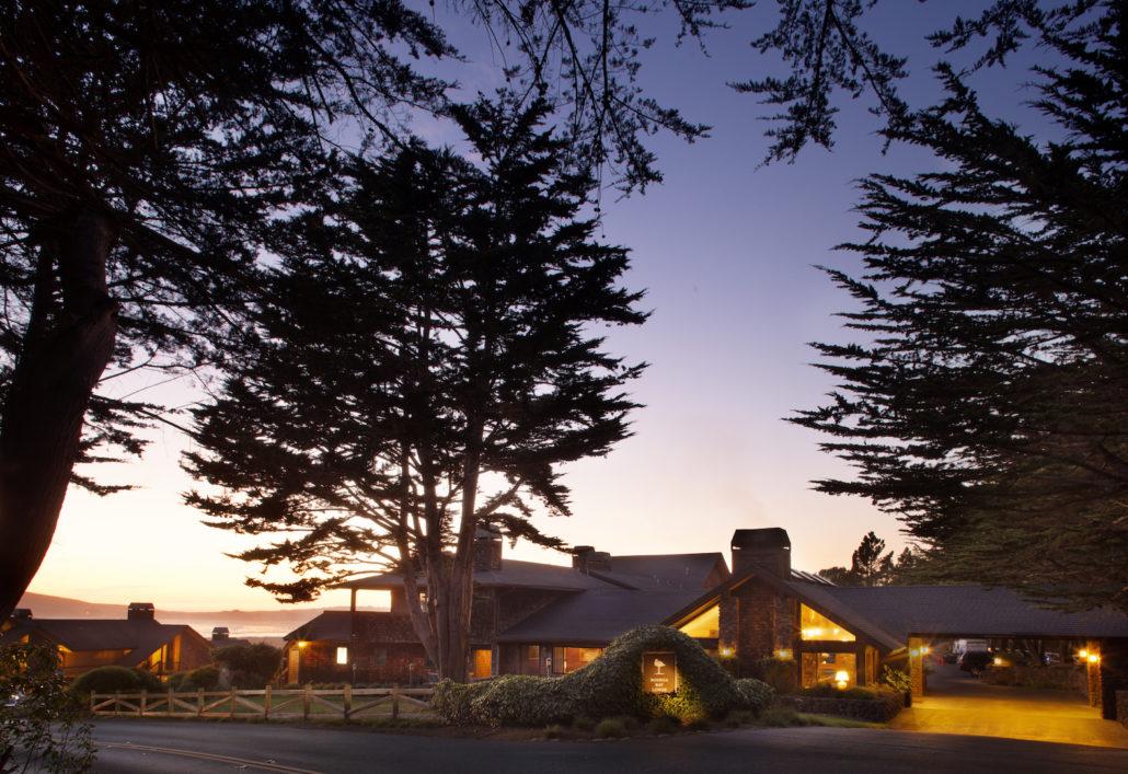 Bodega Bay Lodge Arrival.
