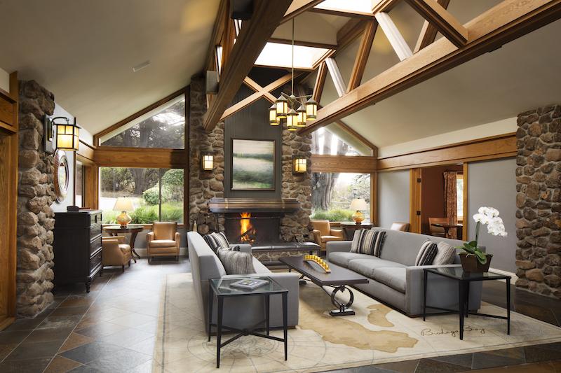 Bodega Bay Lodge Lobby.