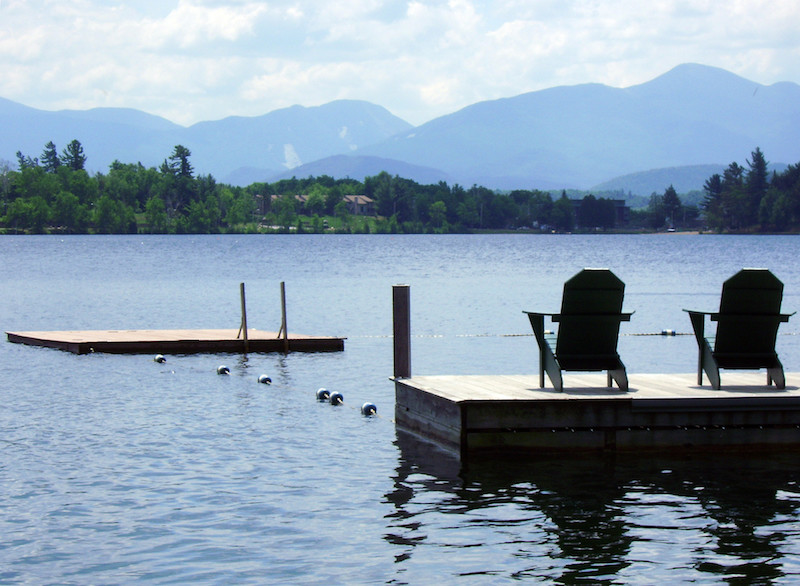 Lake-side views. Photo: Visit Adirondacks