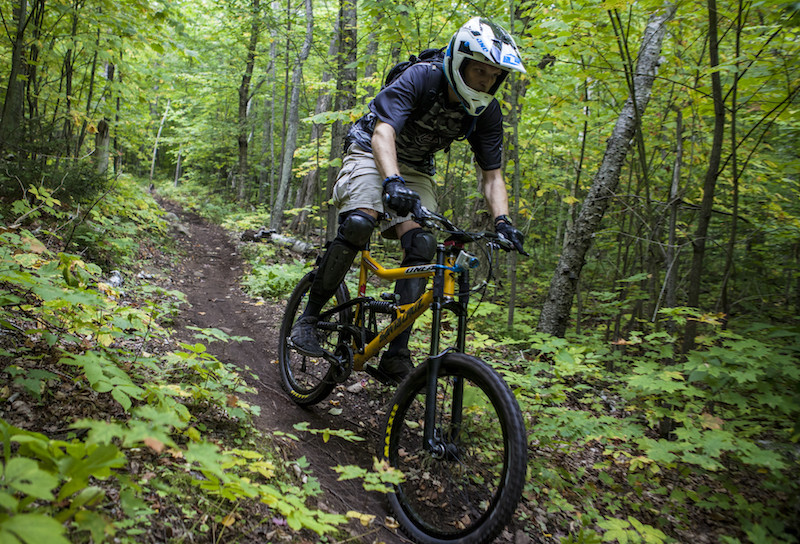 Trail biking. Photo: Visit Adirondacks