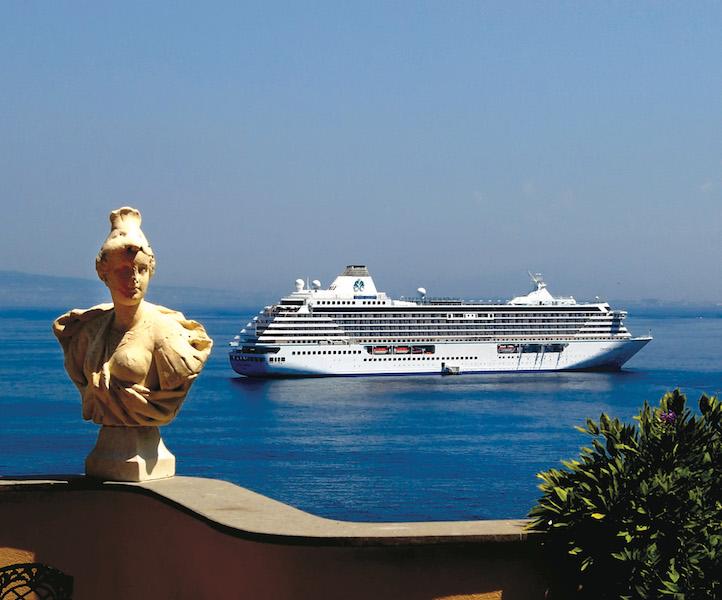 Sorrento, Amalfi Coast, Italy. Photo: Crystal Cruises