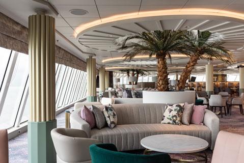 Palm Court. Photo: Crystal Cruises