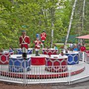 Drum ride at Santa's Village in Jefferson.